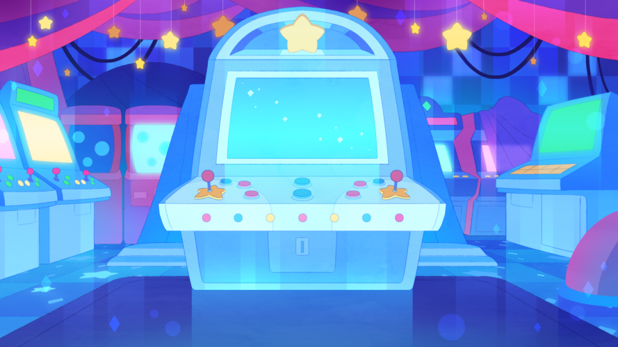 Arcade Game BG Design and Paint