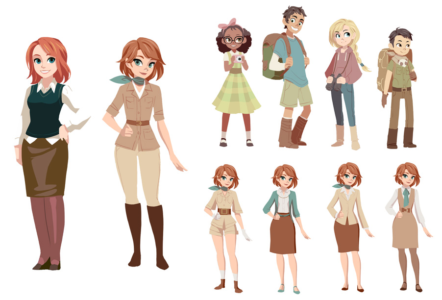 Character concepts and exploration