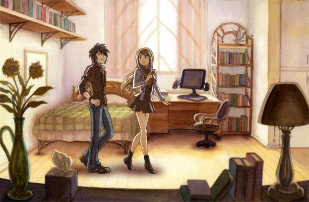 Dorm Room illustration