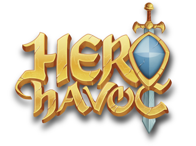 Hero Havoc logo design
