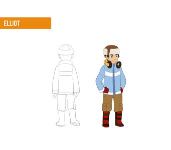 Elliot winter outfit design